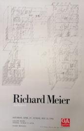 Poster Richard Meier Drawings