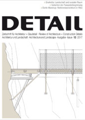 detail 12/2017 architettura e paesaggio